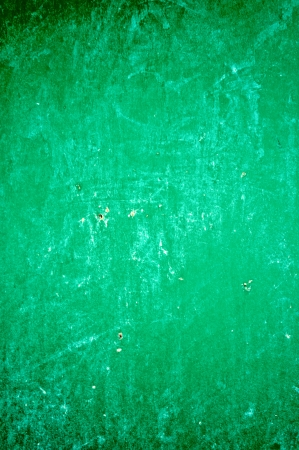 Green board Scratched  photo