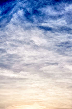 Soft background by the clouds photo