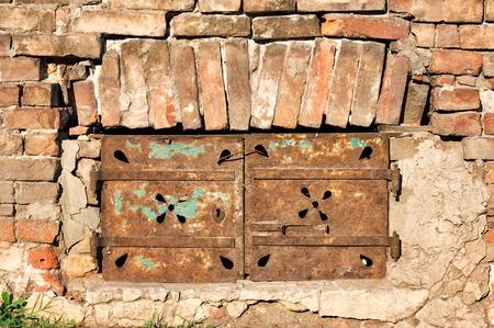 Window in the old bricks Stock Photo - 15201500