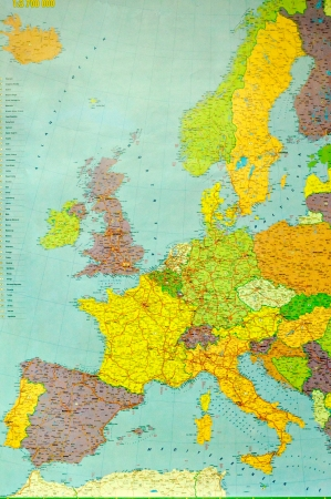 east germany: Whole europe map