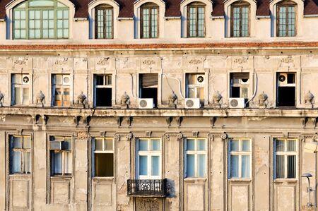 belgrade: Old building in Belgrade
