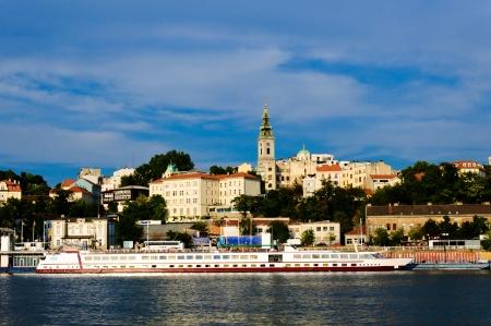 Belgrade turists marina photo