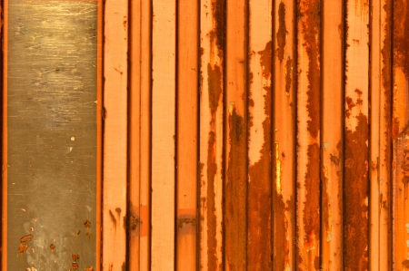 Rusty metal background  photo