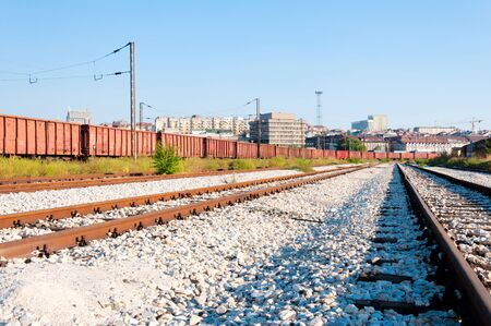 Belgrade railroad cargo  photo