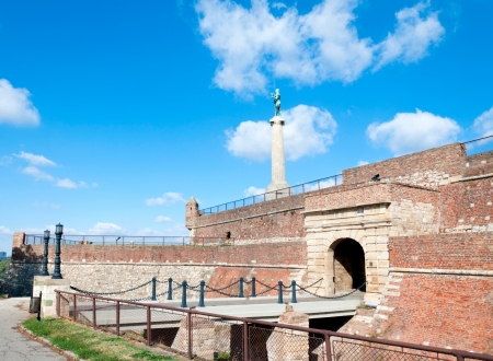 victor: Belgrade winner at the Kalemegdan fortress