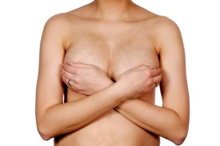 Female torso isolated on white background Stock Photo - 15941028