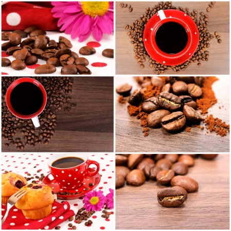 Coffee concept in the photography photo