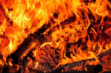 embers: Fire Stock Photo