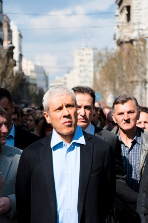 10 to 12 years: BELGRADE, SERBIA - MARCH 12 Boris Tadic, ex-Serbian president, walk in honor of 10 years since the death of Serbian Prime Minister Zoran Djindjic on March 12, 2013 in Belgrade, Serbia. Editorial