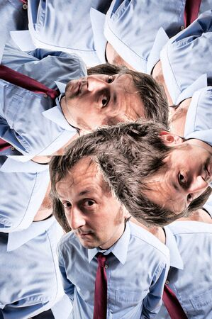 Abstract view of the businessman Stock Photo - 18455627