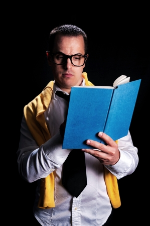 Man with book Stock Photo - 18918074