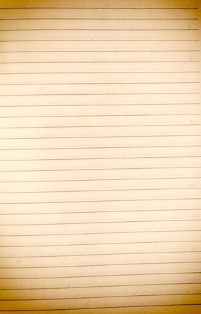 Blank old paper with the graph lines  photo