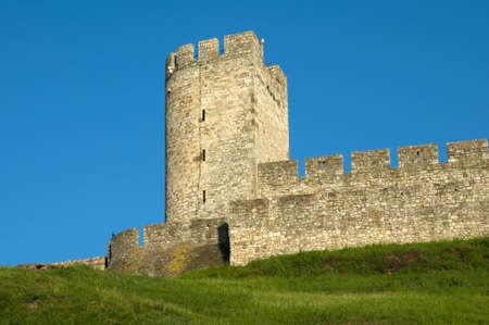 leeway: The old watch tower on Kalemegdan fortess