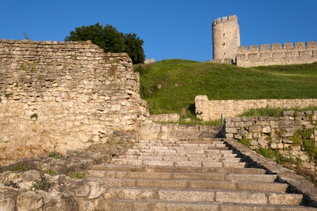 leeway: The old stairs on Kalemegdan fortess Editorial
