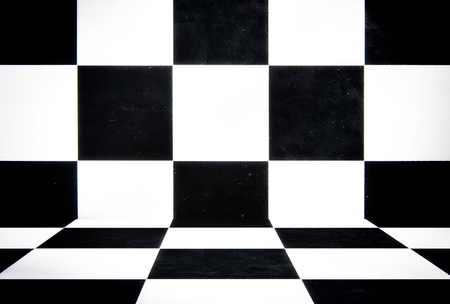 Abstract black and white cubes Stock Photo - 22928353
