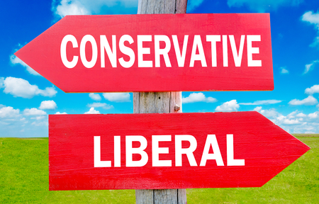 conservative: Conservative or liberal choice showing strategy change or dilemmas