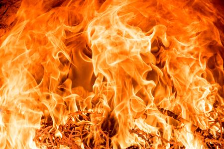 resplandor: Gran incendio llamas textura de fondo de llama Foto de archivo