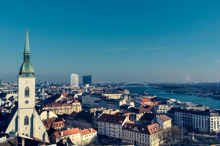catholocism: Landscape of the Capital city of Slavakia,Bratislava
