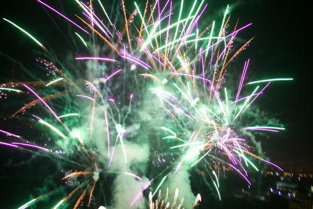 Celebration firework Banco de Imagens - 88143028