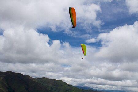 Flying in freedom Imagens