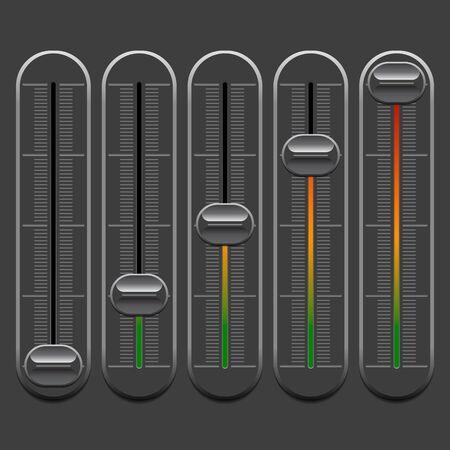 grey: Grey switches on grey background