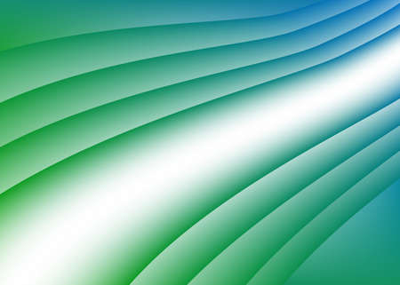 blue green background: Vector green blue wave background
