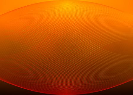 grid: Vector orange grid background Illustration