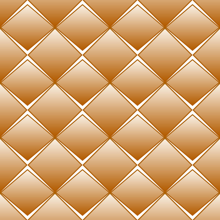 rhomb: Brown rhomb seamless pattern