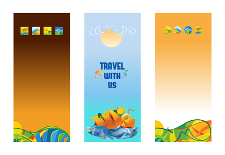 Travel Promotion Banners Idea Banners