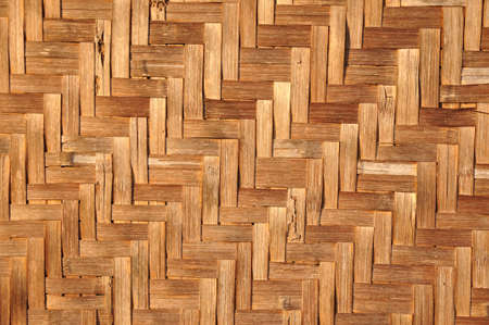 Pattern Texture of House wall is made from woven basketworkPattern Texture of House wall is made from woven basketwork (3) photo