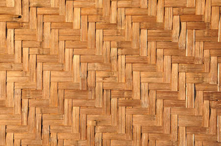 Pattern Texture of House wall is made from woven basketwork (2) photo
