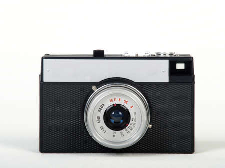 Soviet Lomo toy camera isolated on white background Stock Photo - 12522340