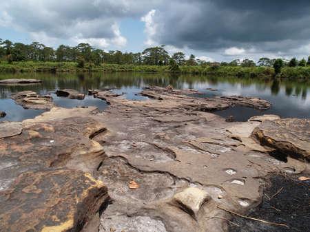 Anodard pond at Phukradueng National Park, Loei Thailand.