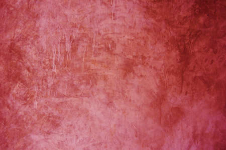 Red exposed concrete wall texture