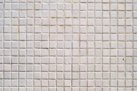 azulejos ceramicos: Cuadrado blanco sucio textura de las baldosas cer�micas