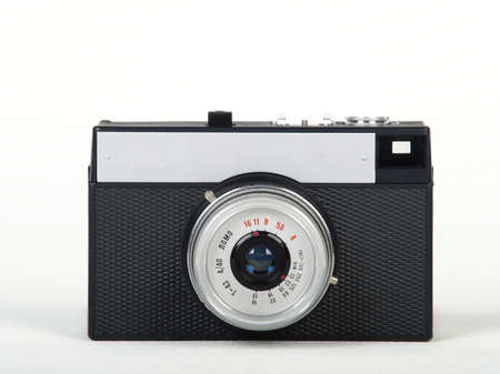 Soviet Lomo toy camera isolated on white background