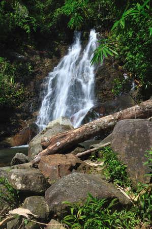 Sairung waterfall at Phangnga, Thailand  Stock Photo - 15194610