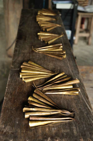 Brass nails for Thai nail dance which Tai Yuan culture