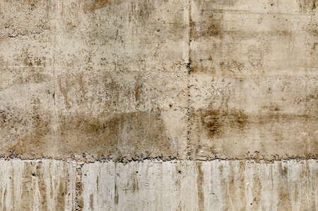 earth tone: Wallpaper texture of brown exposed concrete wall