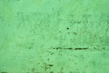 exposed: Texture of green exposed concrete wall   Stock Photo