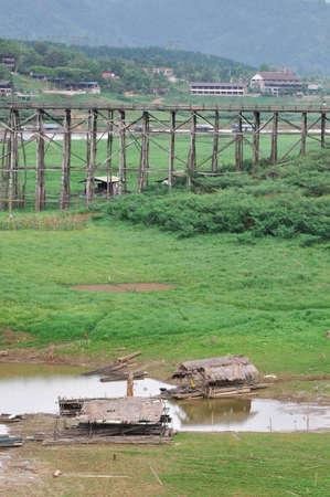 sangkhla buri: A Mon's rural life among nature at Sangkhla buri, Thailand