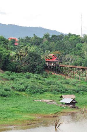 sangkhla buri: A Mons rural life among nature at Sangkhla buri, Thailand