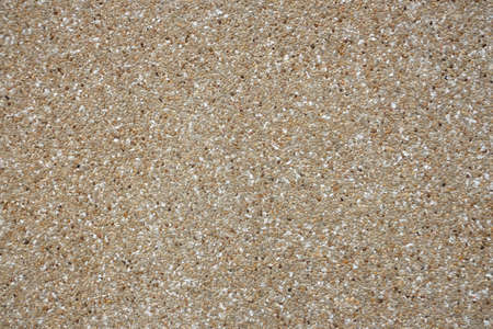 Texture of washed sand floor  photo