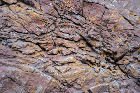 Texture of rock stone