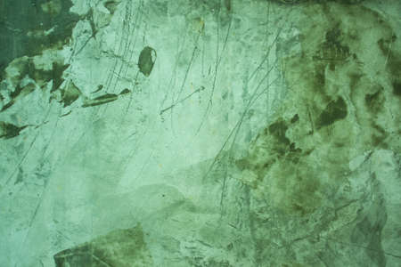 Green exposed grungy concrete wall  Stock Photo
