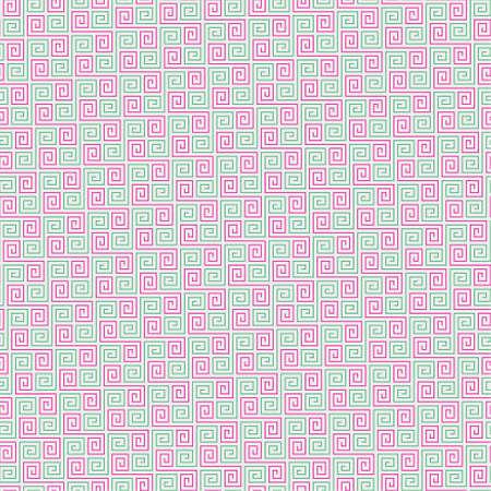 Seamless maze stripe line pattern  Vector