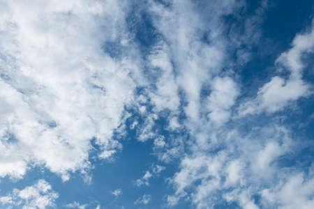 Cloud on blue sky. photo