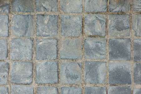 Texture of exposed cement floor tiled. photo