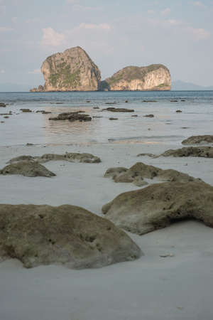 sea scape: Beautiful sea scape scene from ngai island, Thailand.