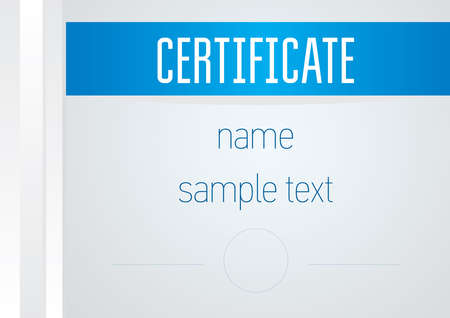 Certificates and Diplomas template vector